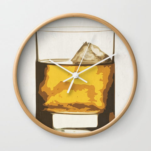 壁掛け時計 Old Scotch Whiskey by Franco Nico