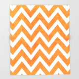 ブランケット orange chevron by her art