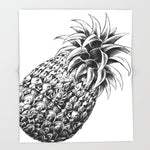 ブランケット Ornate Pineapple by BioWorkZ