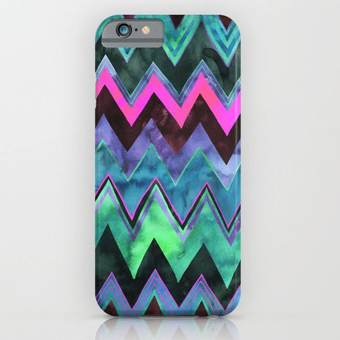 スマホケース PATTERN {chevron 011} by Schatzi Brown