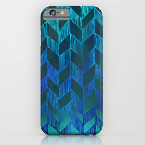 スマホケース PATTERN {Chevron 013} by Schatzi Brown