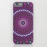 スマホケース purple and blue kaleidoscope by Sylvia Cook Photography