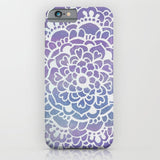 スマホケース Purple Sparkle Doodle Pattern by Tangerine-Tane
