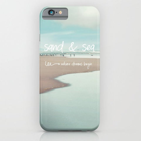 スマホケース sand and sea by Sylvia Cook Photography