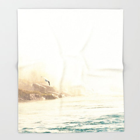 ブランケット Seagull in Flight by Erin Johnson