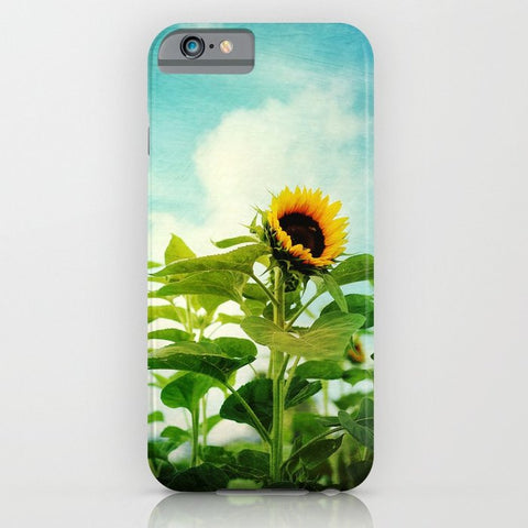 スマホケース sunflower field by Sylvia Cook Photography
