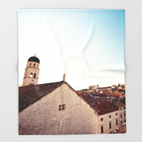 ブランケット Sunrise in Dubrovnik by Erin Johnson