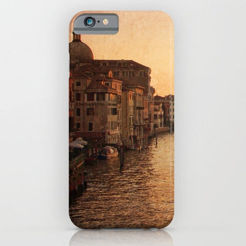 スマホケース Sunset on the Grand Canal by Sylvia Cook Photography