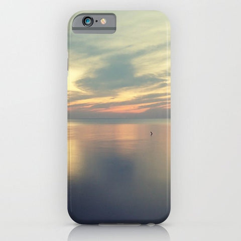 スマホケース Sunset on the Lake by Erin Johnson