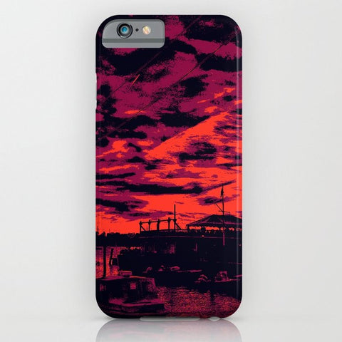 スマホケース Sunset Over Bristol Harbor 2 by spires