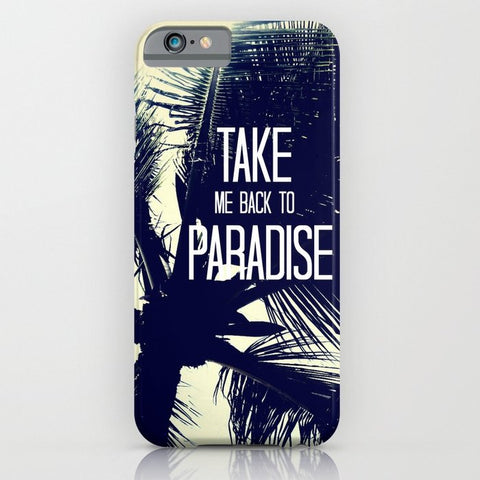 スマホケース TAKE ME BACK TO PARADISE  by Tara Yarte
