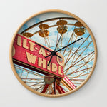 壁掛け時計 tilt-a-whirl by Sylvia Cook Photography