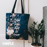 トートバッグ BLUE INK STAINS by Yaz Raja Designs