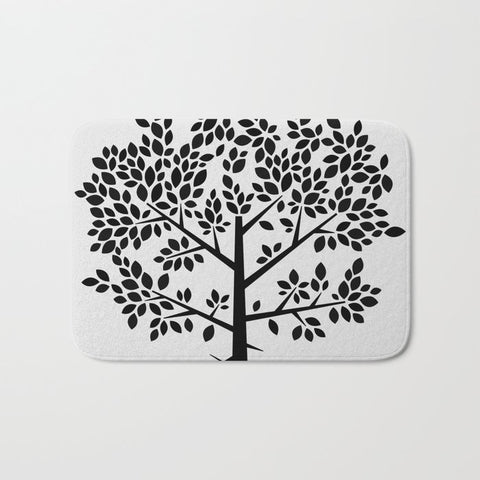 バスマット Tree Graphic 2 by Mareike Böhmer Graphics