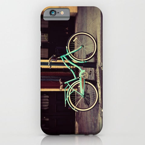 スマホケース Turquoise Bike by Erin Johnson