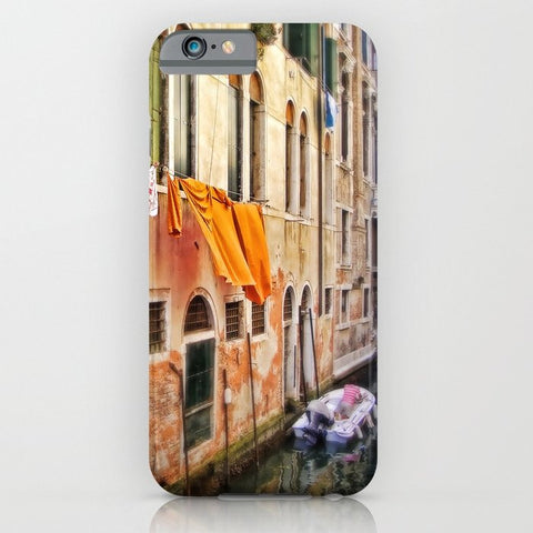 スマホケース wash day in Venice by Sylvia Cook Photography