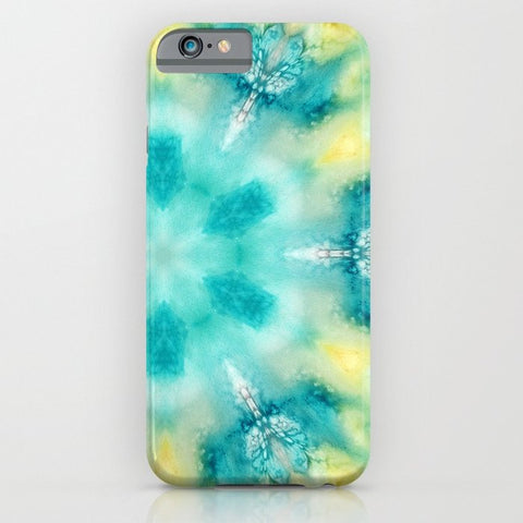 スマホケース watercolor tie dye by Sylvia Cook Photography