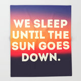ブランケット We Sleep Until The Sun Goes Down by Josrick