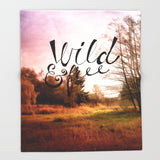 ブランケット wild and free: meadow by Sylvia Cook Photography