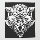 ブランケット Wolf Head by BioWorkZ