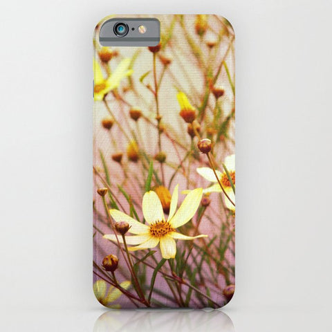 スマホケース yellow flowers by Sylvia Cook Photography