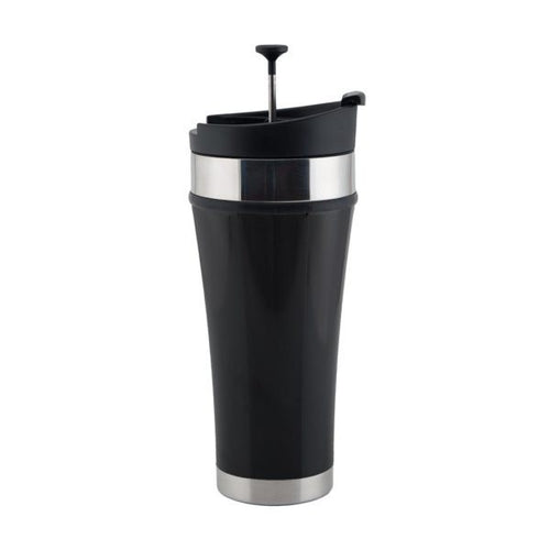 Tea Tumbler Black 16 oz
