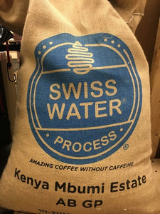 Decaf Kenya (Swiss Water Process)