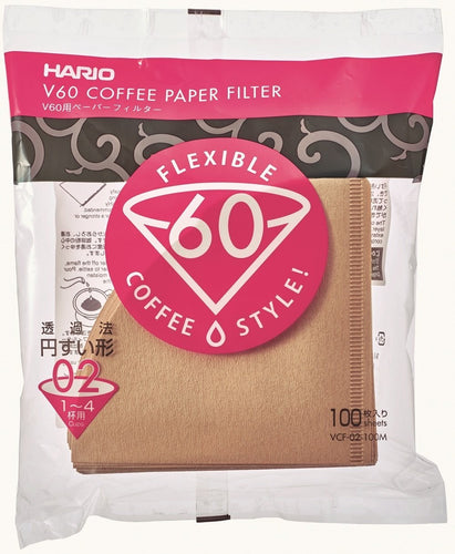 Hario BROWN Coffee Filters for V60 #02