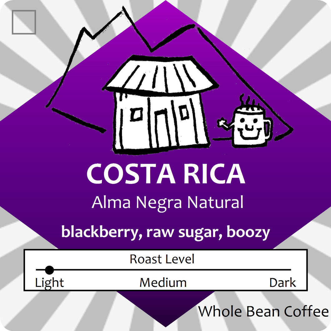 Costa Rica Natural Alma Negra