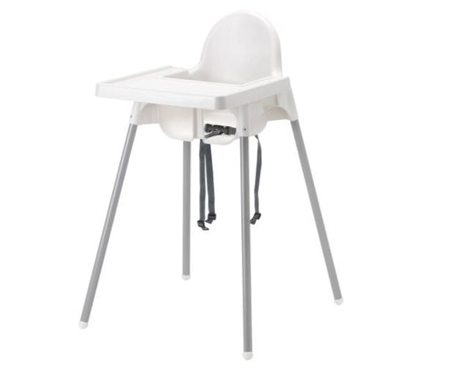 High Chair with belt and removal tray