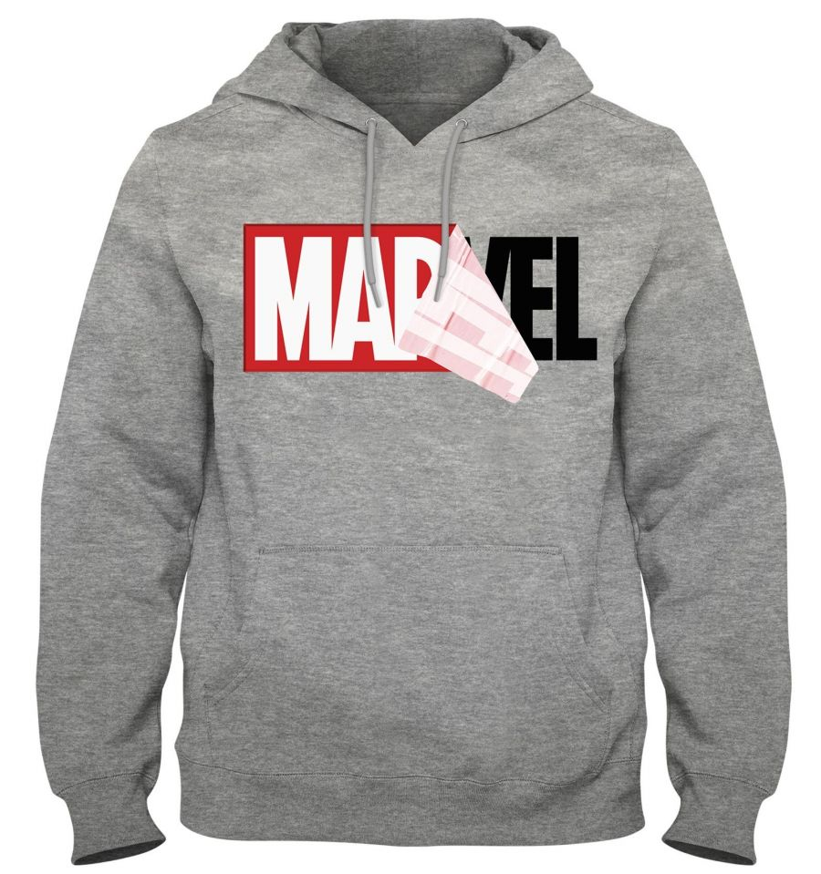 Sweat à capuche Homme MARVEL
