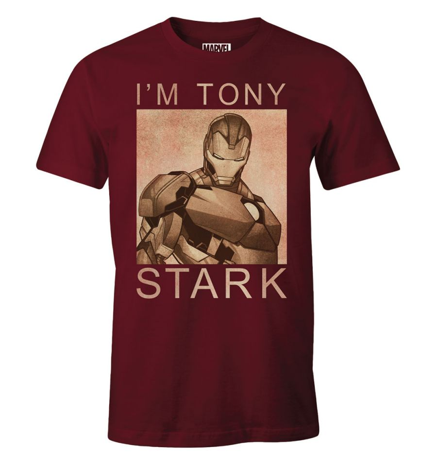 T-shirt Homme Iron Man - I'm Tony Stark