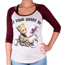 T-shirt Femme Gardiens de la Galaxie 2 - Get Your Groot