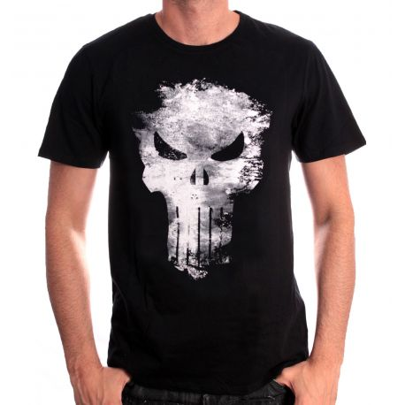 T-shirt Homme Punisher - Crâne