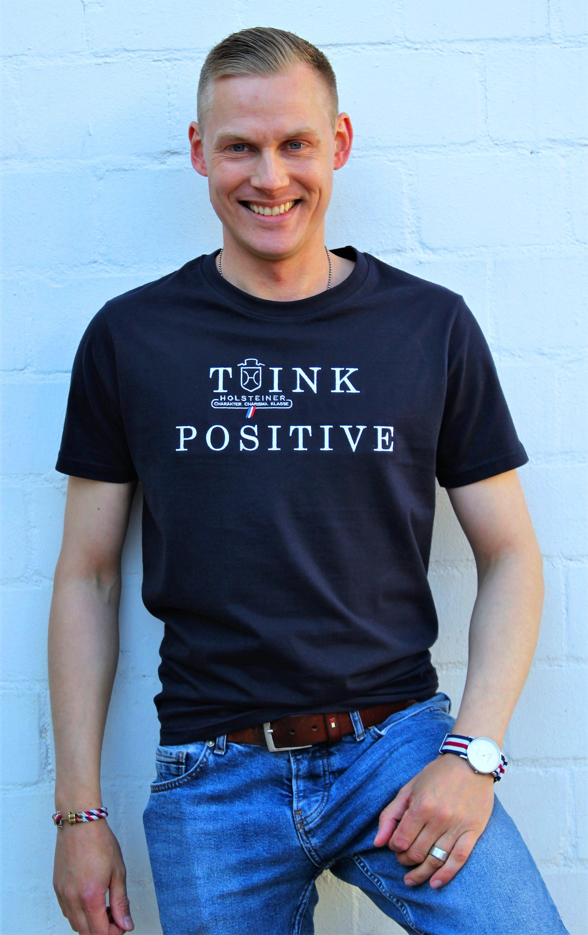 T-Shirt THINK POSITIVE (3204)
