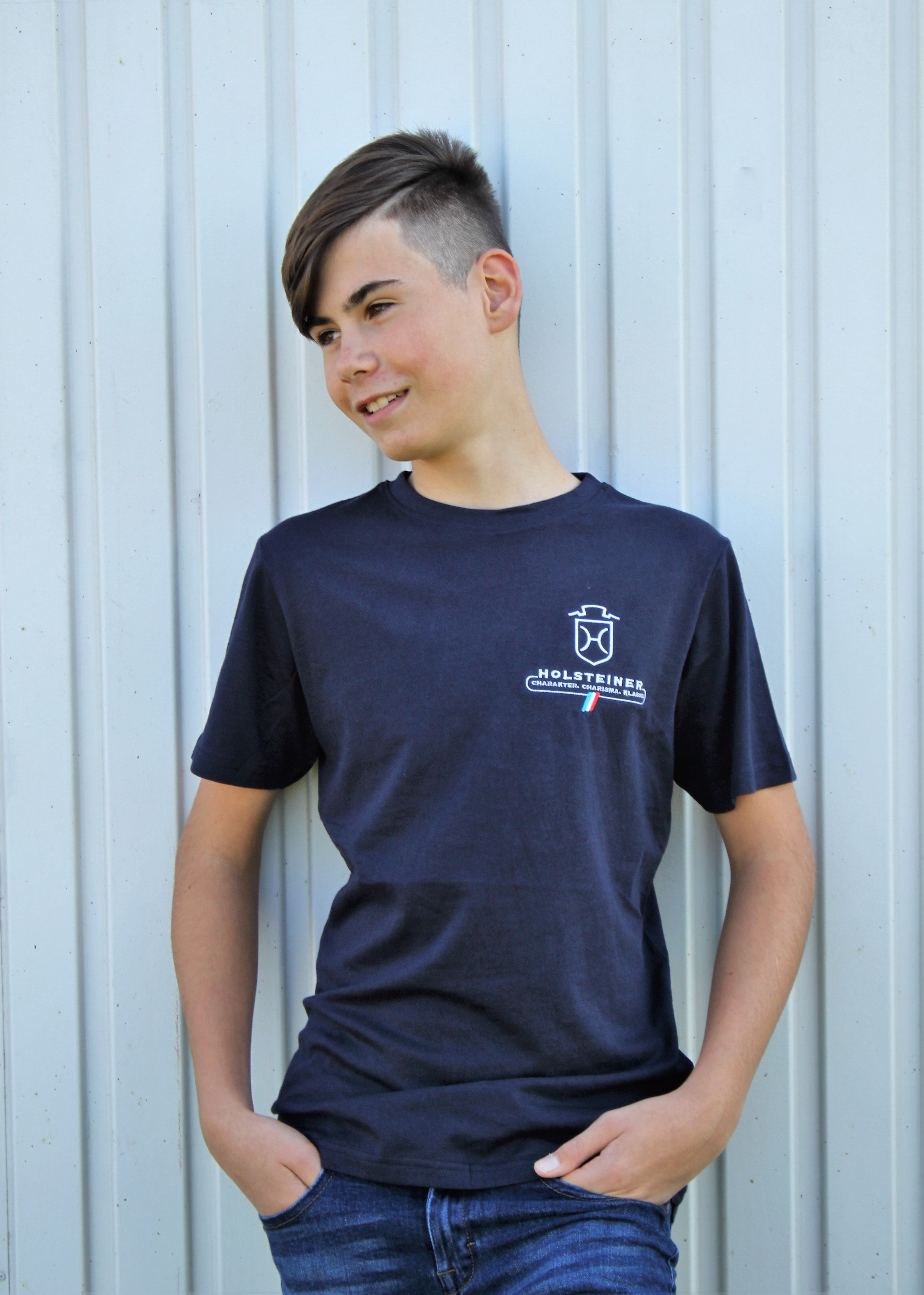 T-Shirt Boys Basic T-Shirt -Bio-Baumwolle- (3048)