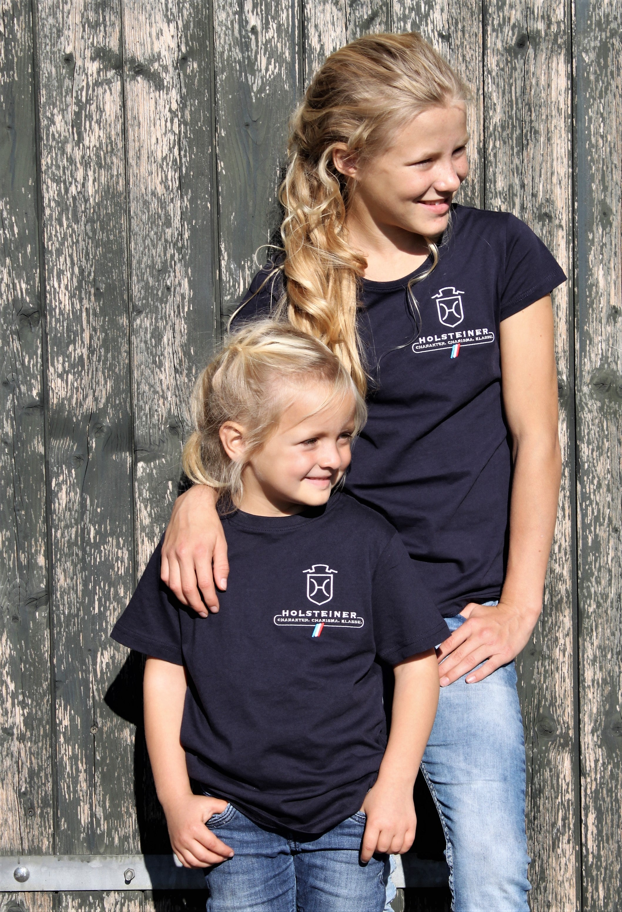 T-Shirt Girls Basic T-Shirt -Bio-Baumwolle- (3047)