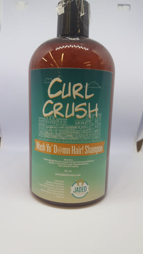 Curl Crush | Wash Yo D@mn Hair | Shampoo