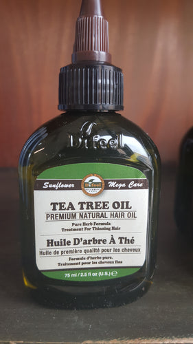 Premium Natural Hair Oil - Tea Tree Oil - 75ml