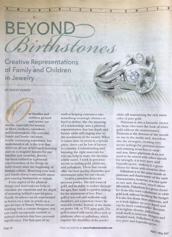Frederick's Child Article - Beyond Birthstones