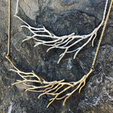 Branch Large Swoop Necklace - InBloomJewelry