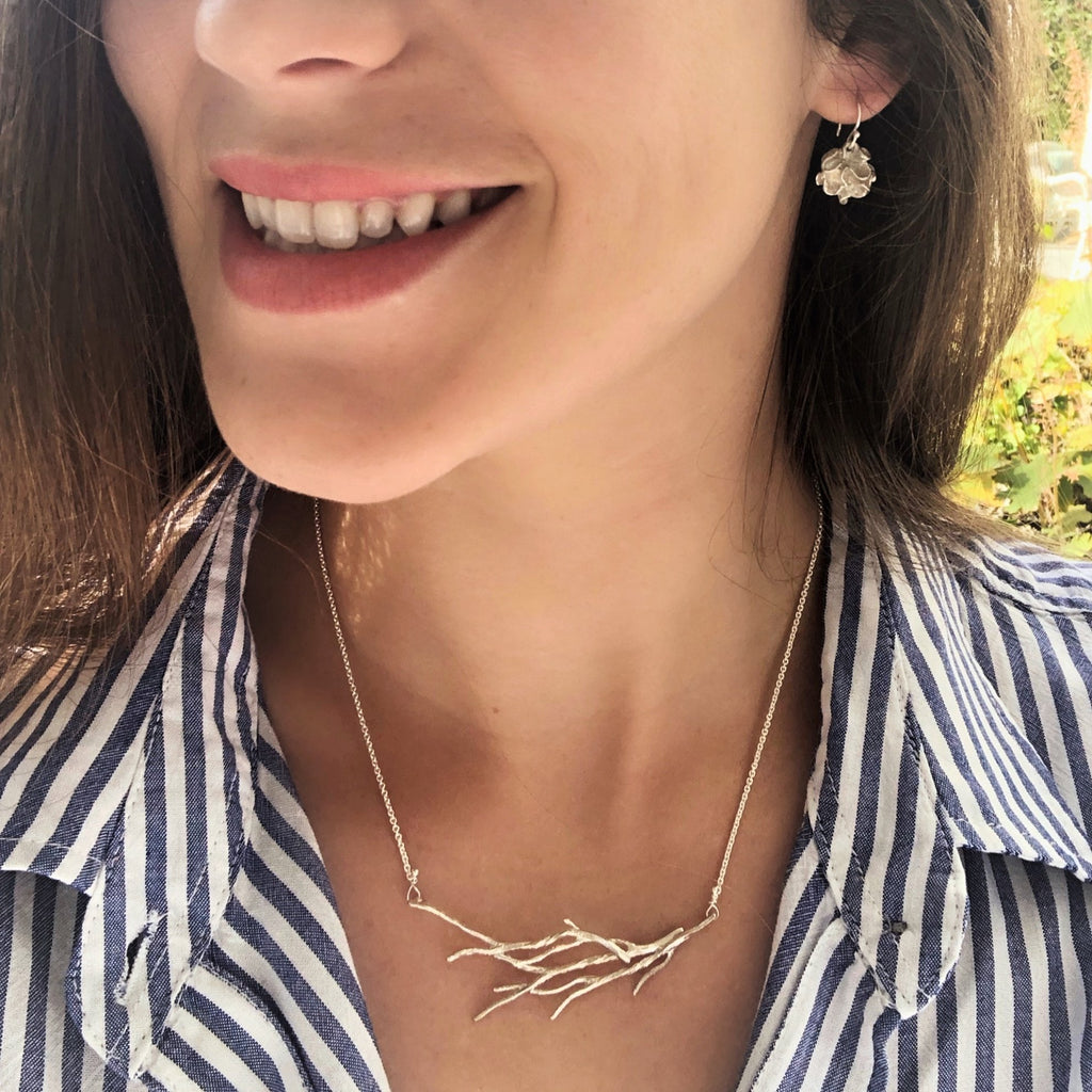 Branch Small Swoop Necklace - InBloomJewelry