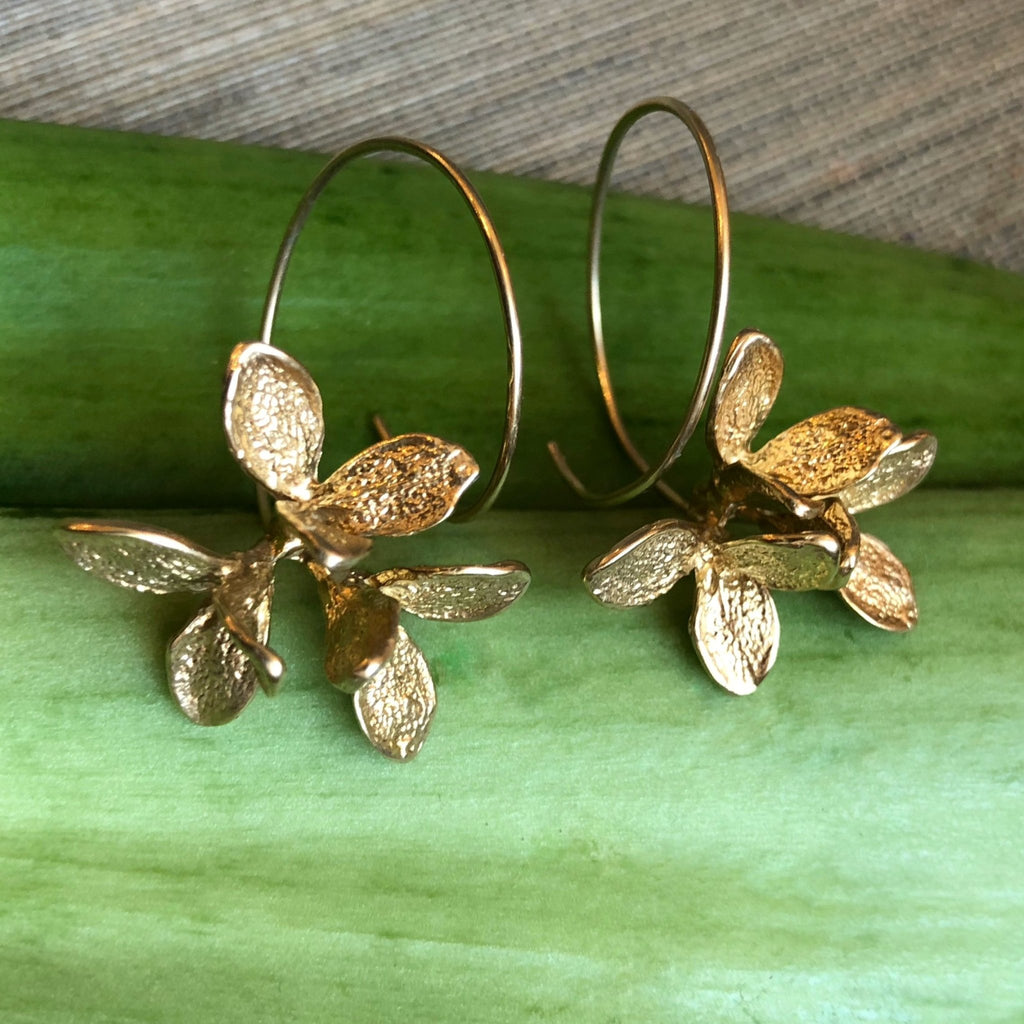 Bud Triple Cluster Earrings - InBloomJewelry