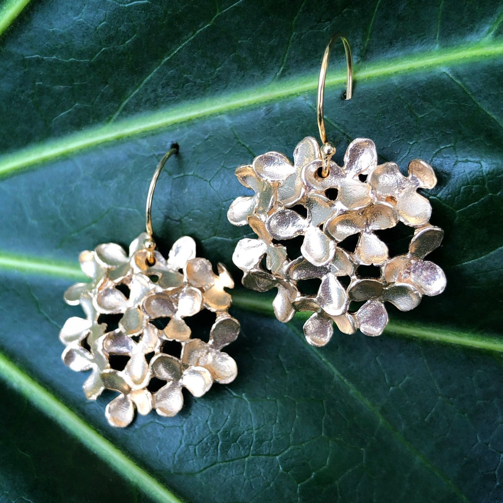 Flower Cluster Large Round Earrings - InBloomJewelry