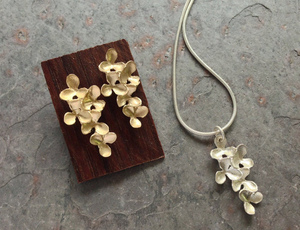 Flower Cluster Short Earrings - InBloomJewelry