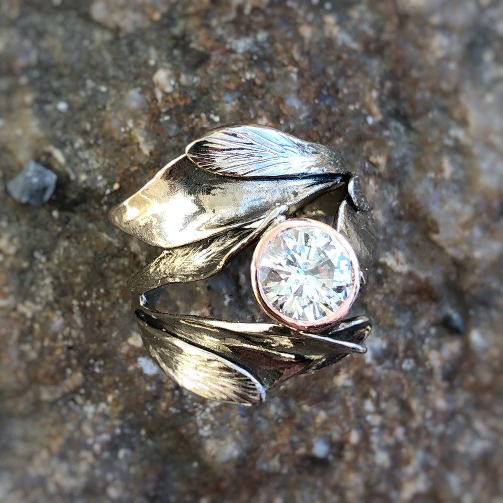 Large Sage Ring - InBloomJewelry