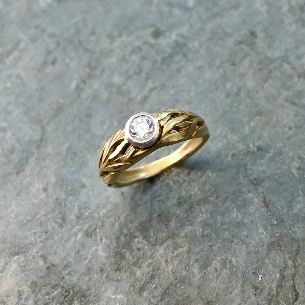 Laurel Engagement Ring - InBloomJewelry