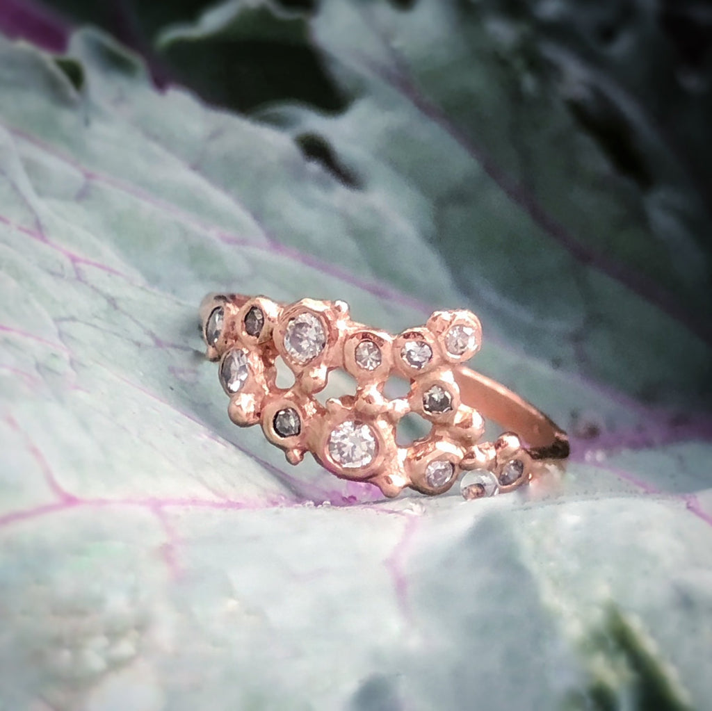 Perfectly Imperfect Cluster Ring - InBloomJewelry