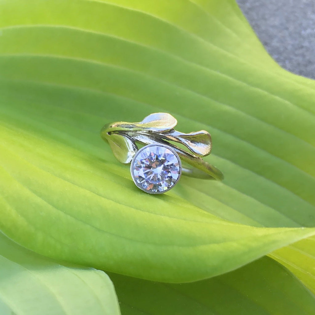 Petal Engagement Ring - InBloomJewelry