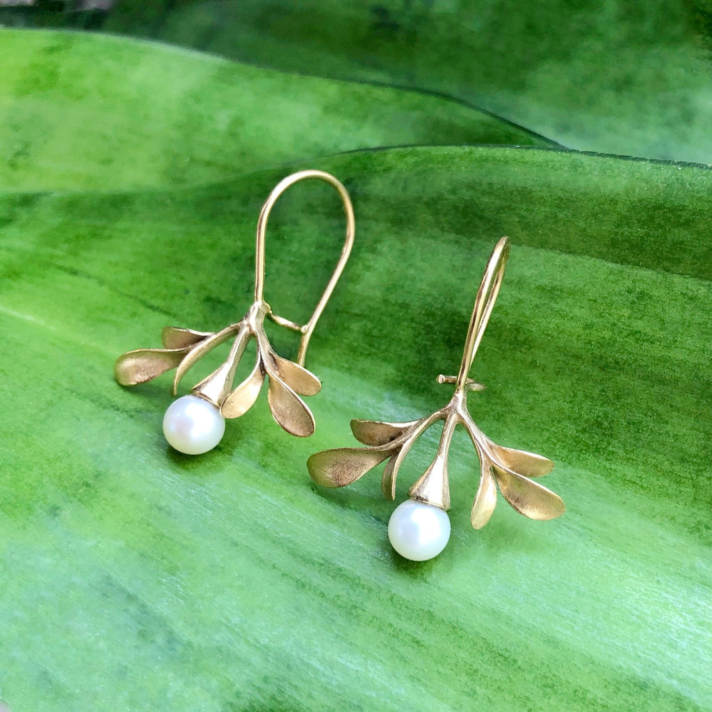 Sedum Wide Earrings - InBloomJewelry